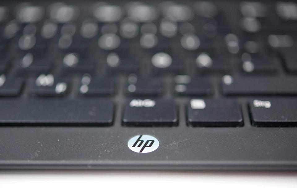 Hewlett-Packard said it has recorded an $8.8 billion write-down related to its acquisition of Autonomy Corp. last year.