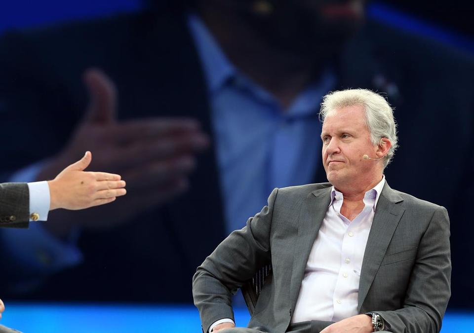 Jeffrey Immelt is chairman and chief of executive of GE.