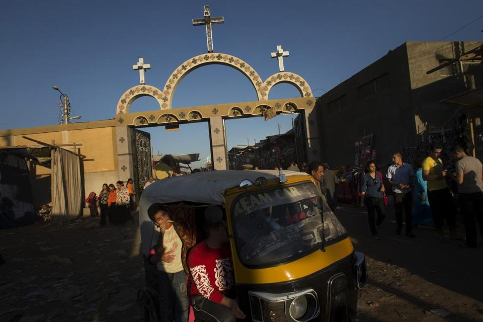 Many Copts find refuge in an annual pilgrimmage to the Mar Girgis Monastery near Luxor, Egypt. This year, the sense of siege is strong; Muslim hardliners have gained political dominance and are vowing to rule Egypt by Islamic law.