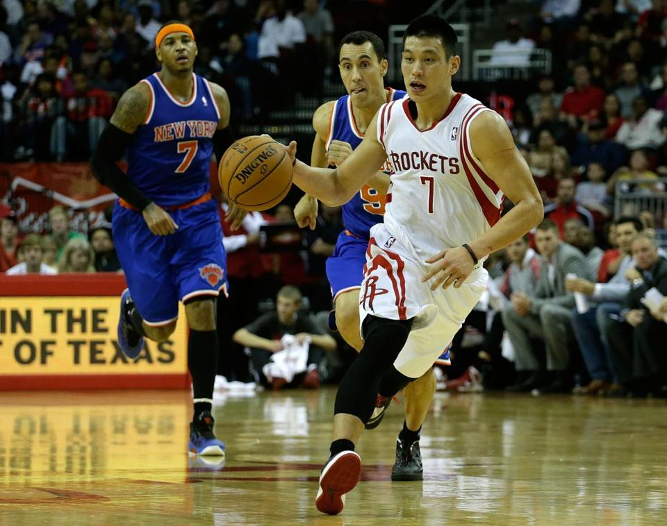 In his first meeting this season against his old team, Jeremy Lin chipped in 13 points to help stop the Knicks.