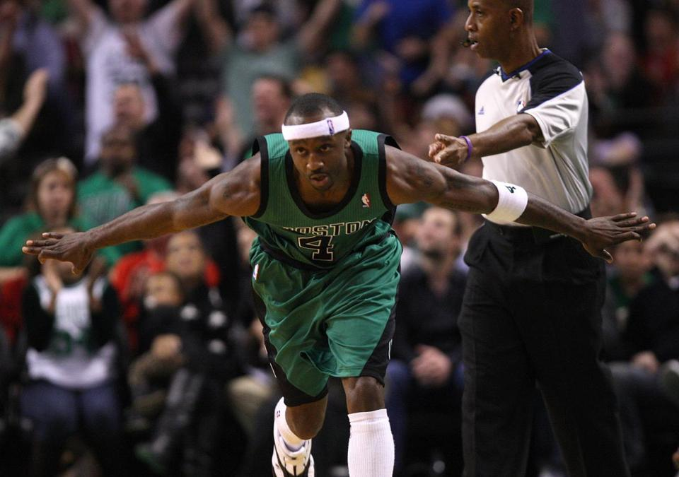 The Celtics' chances at victory really took off when Jason Terry nailed a late 3-pointer.