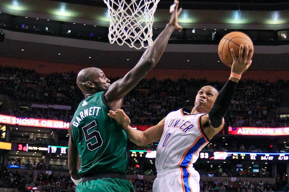 While Kevin Garnett (above) and Paul Pierce have been perennial All-Stars, their ability to take over games has waned as years have passed.