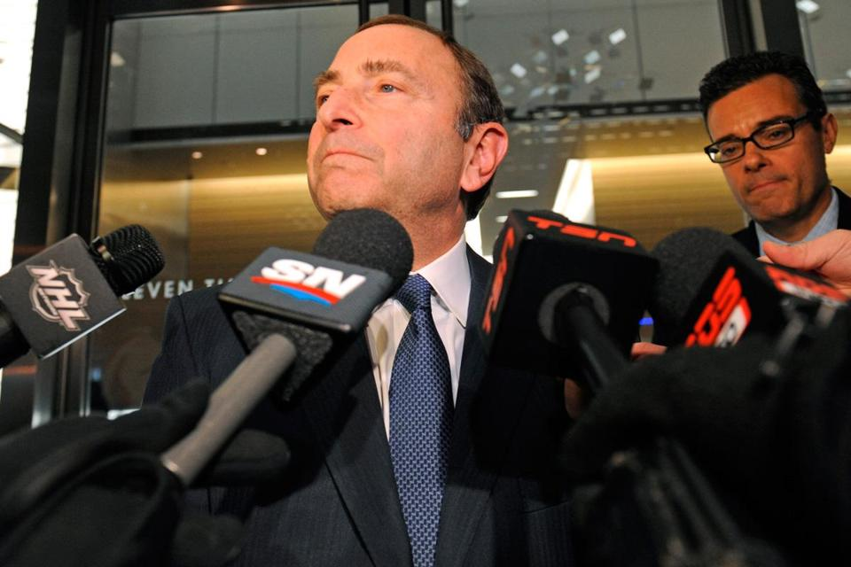 "Ex-Bruins prospect Kris Versteeg dragged the labor discussion to a new low last week on TSN radio when he depicted commissioner Gary Bettman (above) and his top lieutenant, Bill Daly, as ""cancers."""