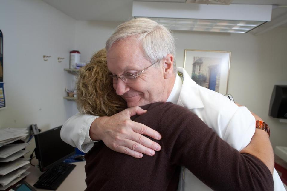 Recognized for the connections he's built with his patients, Dr. John Zawacki credits his father for spurring his compassionate approach to health care.