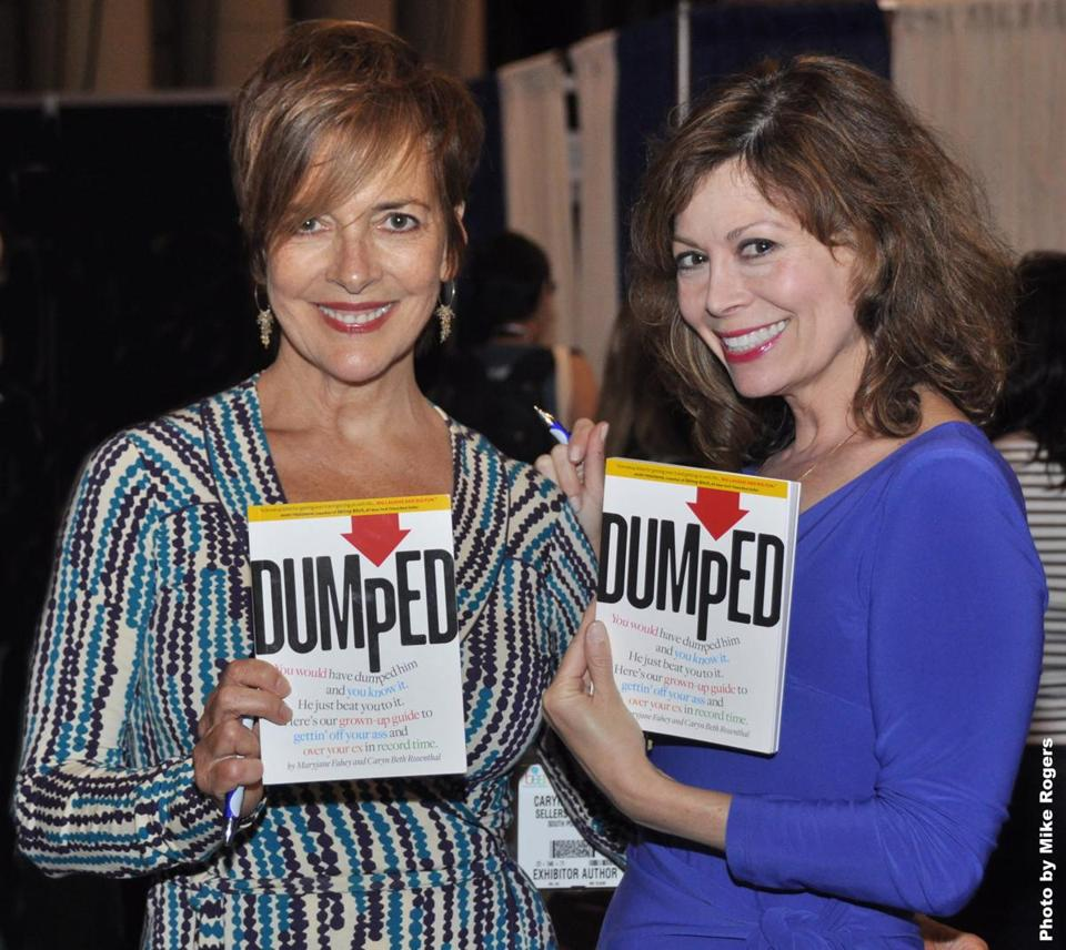 Maryjane Fahey (left) and Caryn Beth Rosenthal see their book as an empowerment bible.