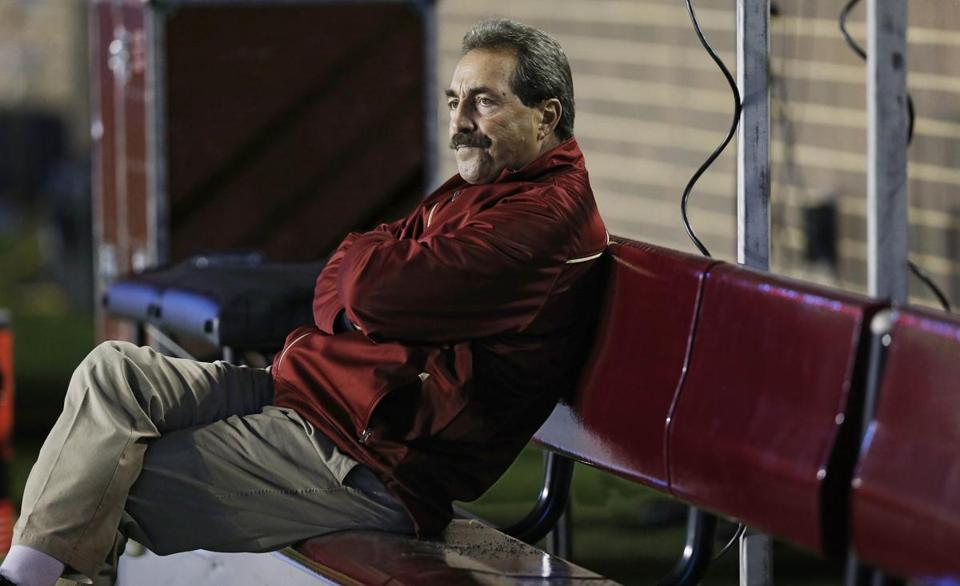 Frank Spaziani was ousted at BC after a 2-10 season.