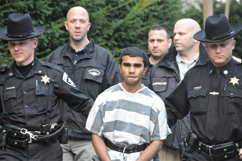 Shafiqul Islam, a native Bangladeshi, was taken into custody after he killed an elderly Hillsdale, N.Y., woman in her home.