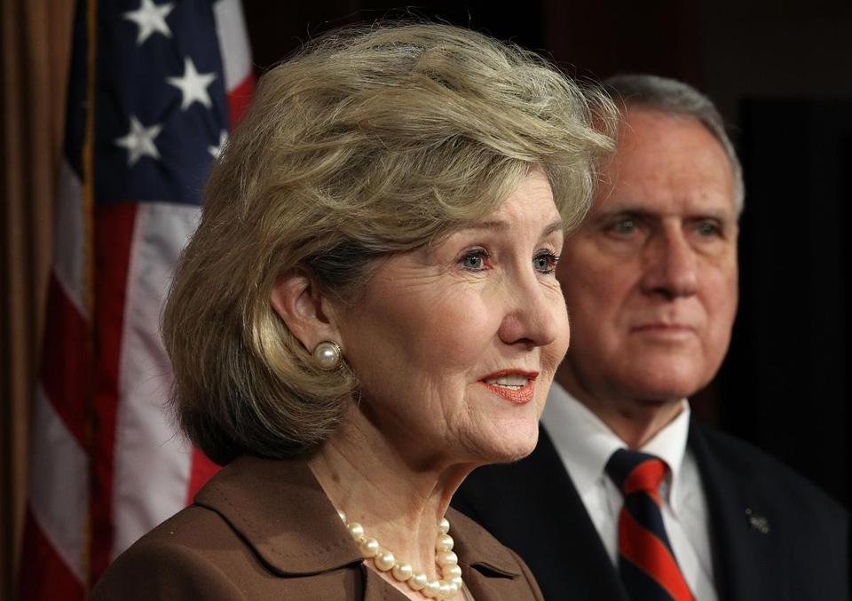 Senators Kay Bailey Hutchison of Texas, Jon Kyl of Arizona (right), and John McCain proposed the measure.