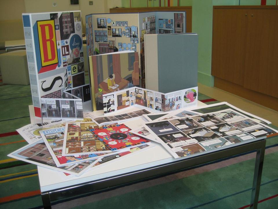 "In ""Building Stories,'' Chris Ware interweaves stories and styles through 14 unique books."