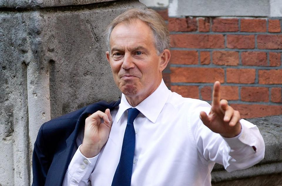 Tony Blair in May 2012.