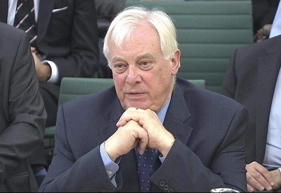 BBC chairman Chris Patten appeared before the Commons Culture, Media and Sport Committee.
