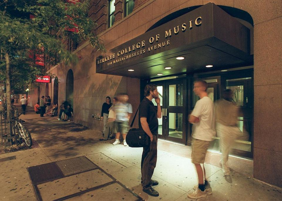 Berklee College of Music says the online degrees will cost less than half what students pay to take courses on its downtown campus.