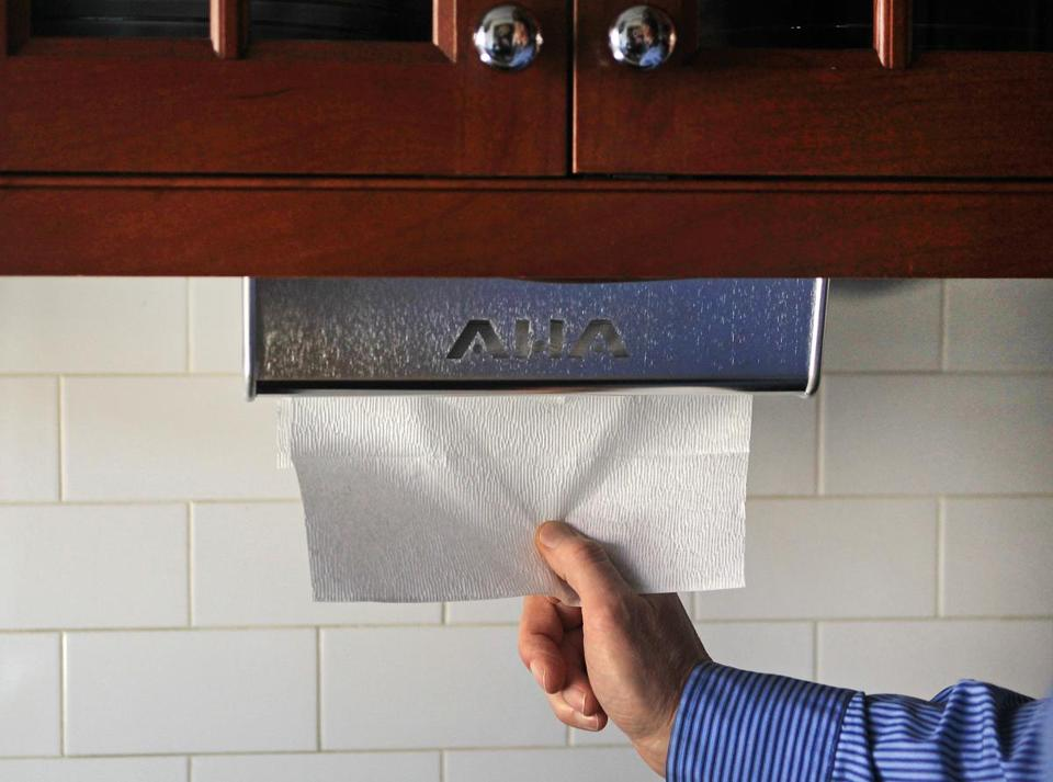 He Invented The Perfect Paper Towel Dispenser The Boston Globe