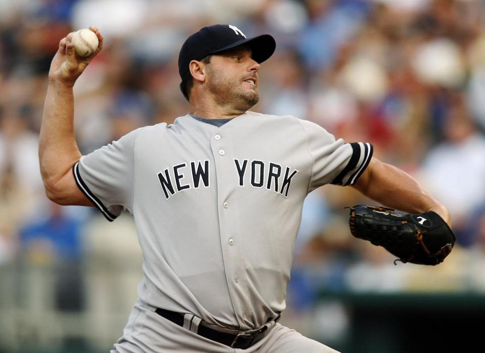 New York Yankees starting pitcher Roger Clemens in 2007. Clemens, Barry Bonds and Sammy Sosa showed up on the Hall of Fame ballot for the first time Wednesday.