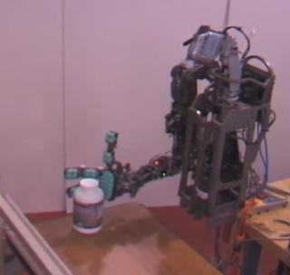 "The Tactico robot's cameras would help it ""see"" an object; finger pads could help it function."