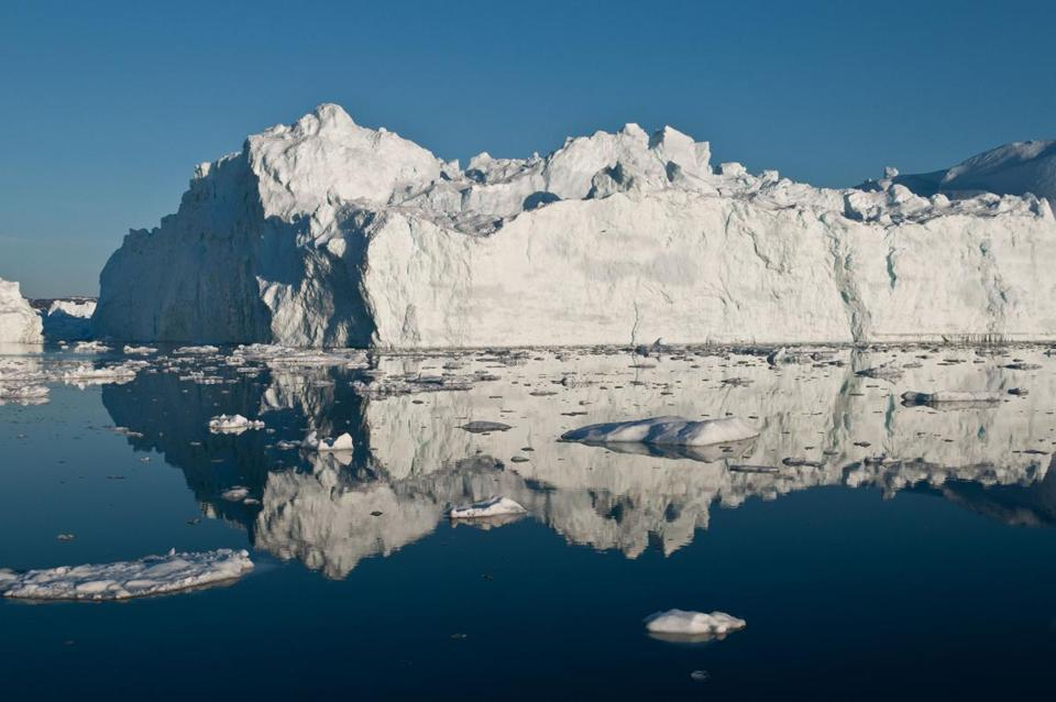 In May, this iceberg was off Greenland, where ice has been melting more quickly.