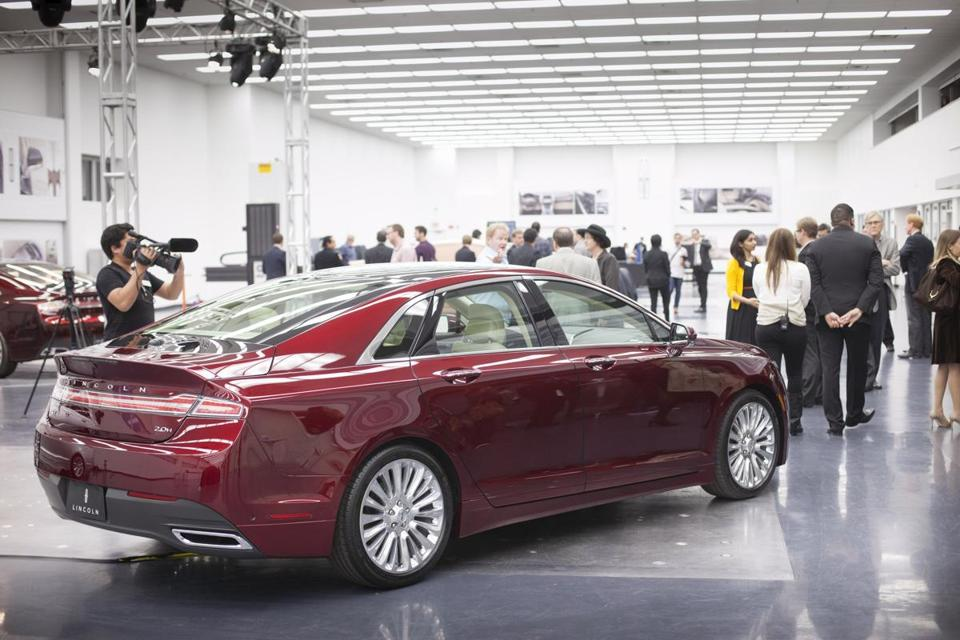 As part of an attempt to change Lincoln's image, the MKZ mid-size sedan has been radically redesigned.