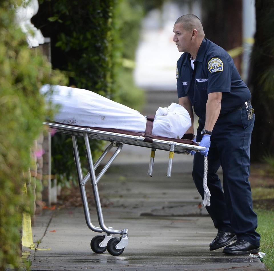 4 Bodies Found Outside California House