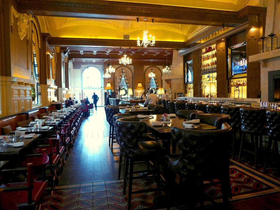 The Oak Long Bar + Kitchen opened summer 2012 as the newest iteration of the Copley Plaza's flagship restaurant.