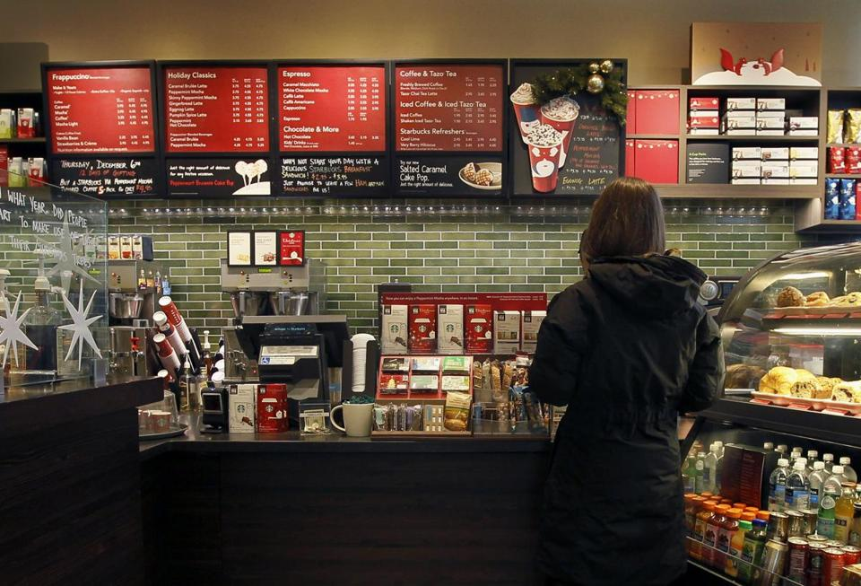 Sales at new Starbucks cafes are averaging about $1 million a year, exceeding the company's target of $900,000.