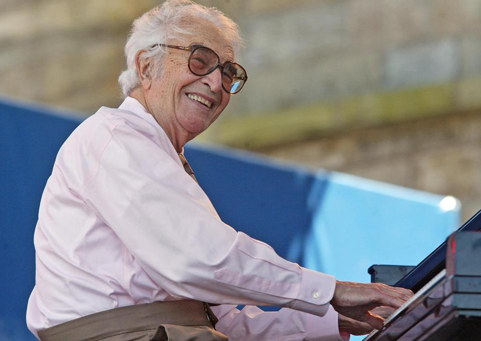Mr. Brubeck played at Newport many summers.