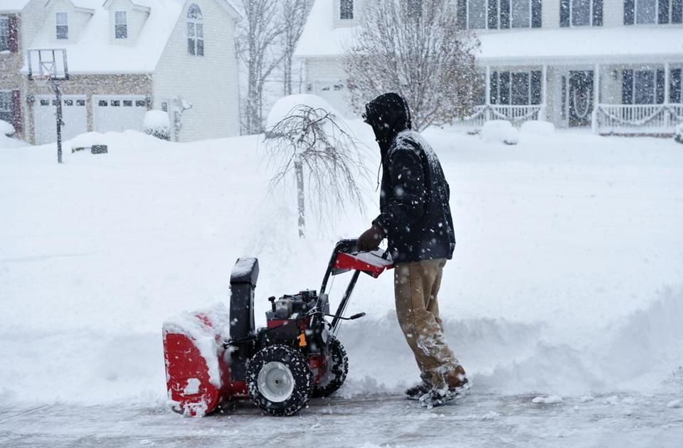Toro's annual snowthrower sales fell almost 50 percent.