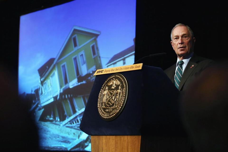 Michael Bloomberg wants to fortify key infrastructure.