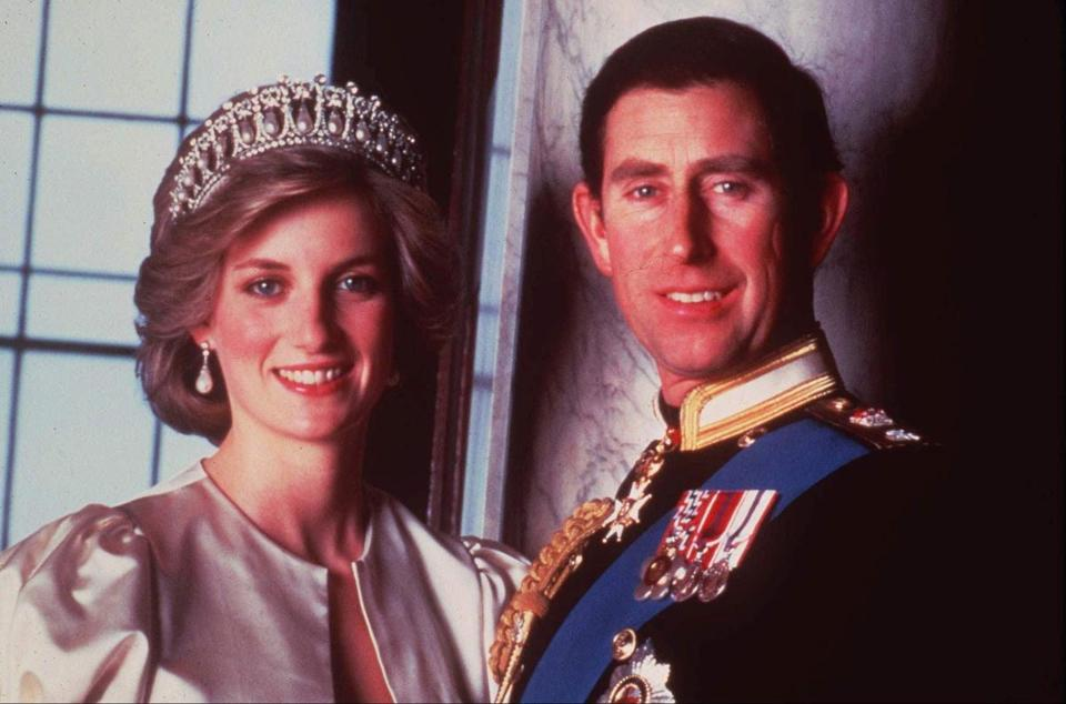 Prince Charles and Princess Diana's royal romance came to an end 20 years ago when they announced their separation.