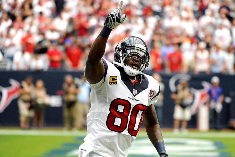 The Texans' Andre Johnson, the only receiver in NFL history with at least 60 catches in each of his first eight seasons, already has surpassed the 1,000-yard mark in 2012, eclipsing 10,000 for his career in the process.