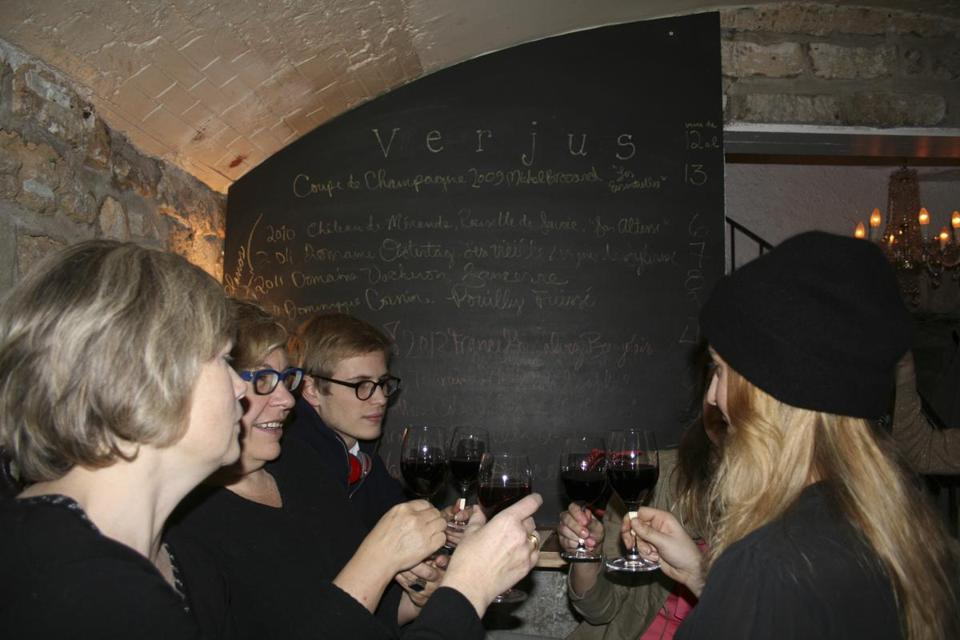 Laura Adrian and her husband opened Verjus Bar à Vins, after their success with a hidden supper club.