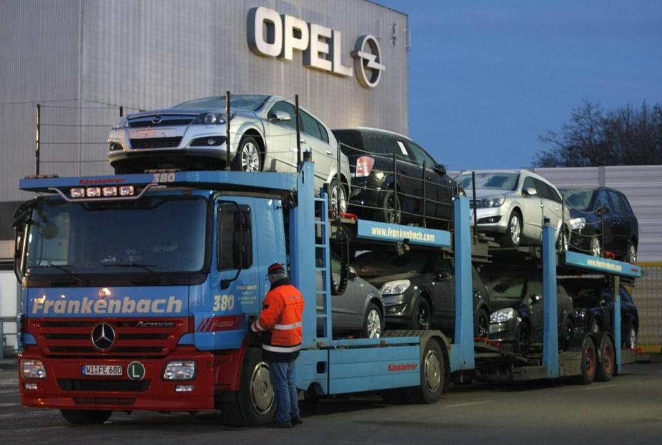 Car production at Opel's assembly plant in Bochum, Germany, will end in 2016.