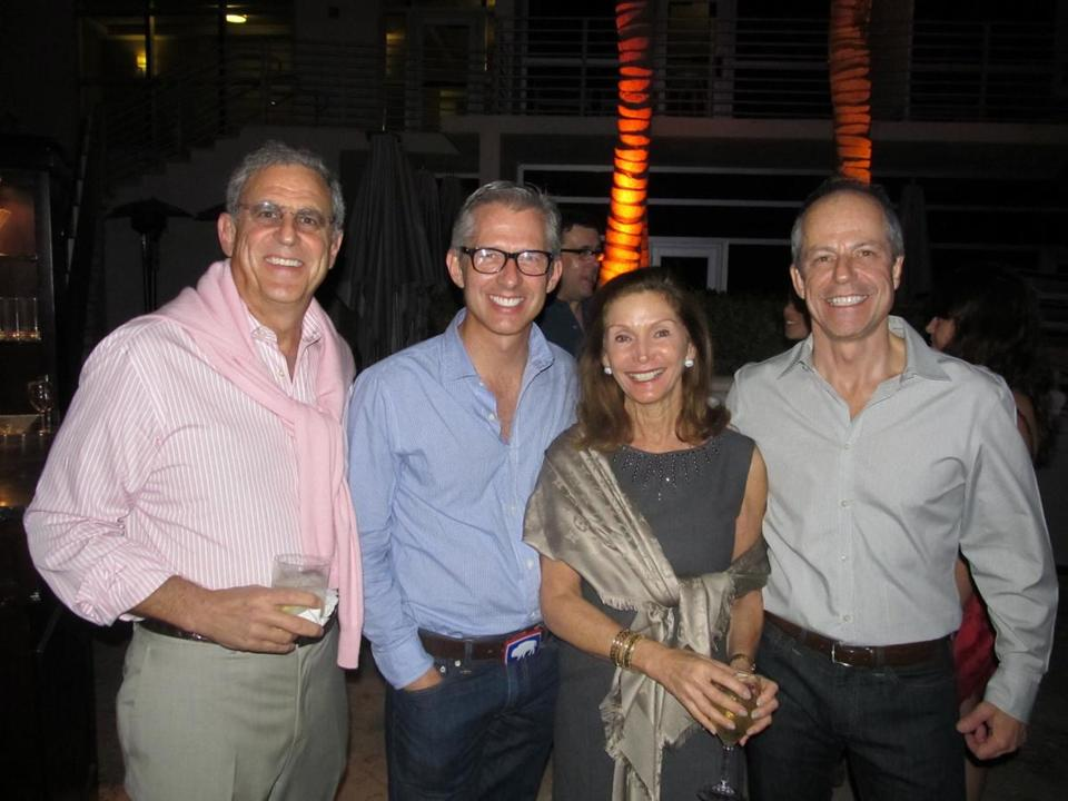 From left: Jeffrey Bloomberg, Bryan Rafanelli, Suzanne Bloomberg, and Mark Walsh.