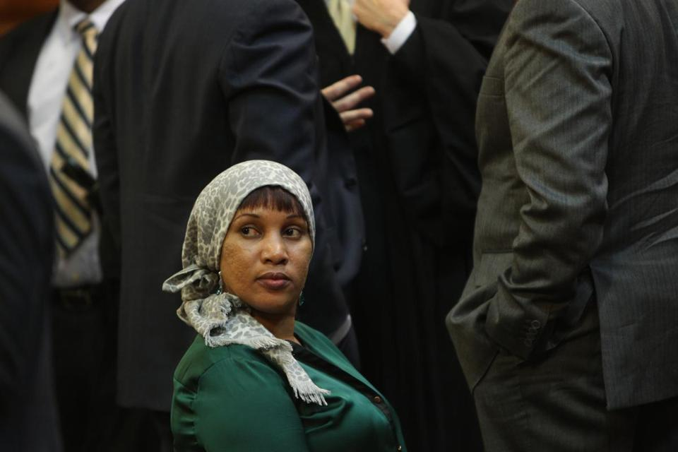 Nafissatou Diallo, who said Dominique Strauss-Kahn sexually assaulted her, was at the hearing in the Bronx courtroom.