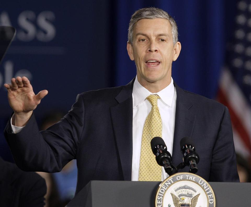 """State and local policy matters . . . can have a powerful influence in advancing or slowing educational progress,"" US Secretary of Education Arne Duncan said."