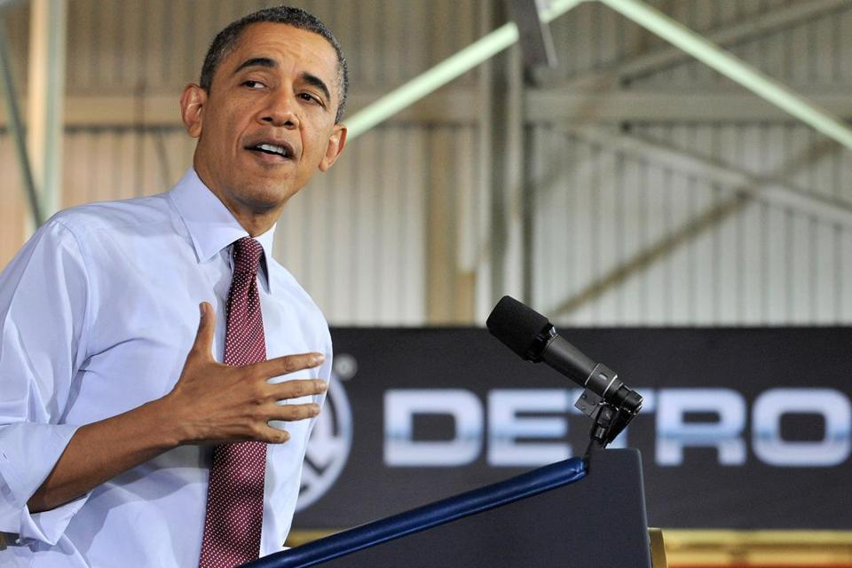 President Obama brought his pressure-Congress campaign to the heart of industrial America.