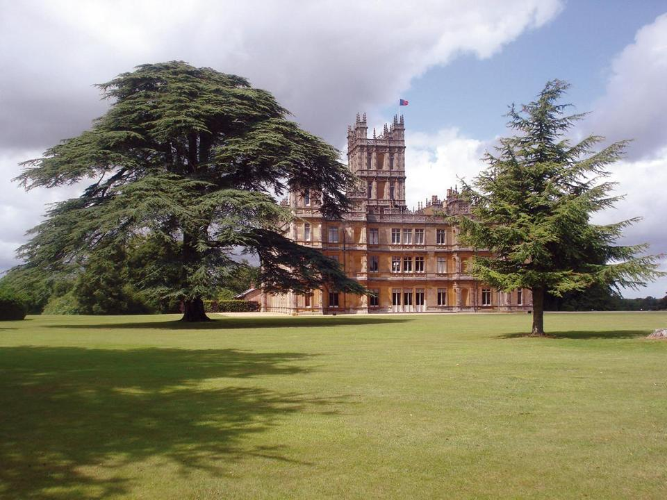 On a trip to Highclere Castle (the real 'Downton Abbey') one can ...