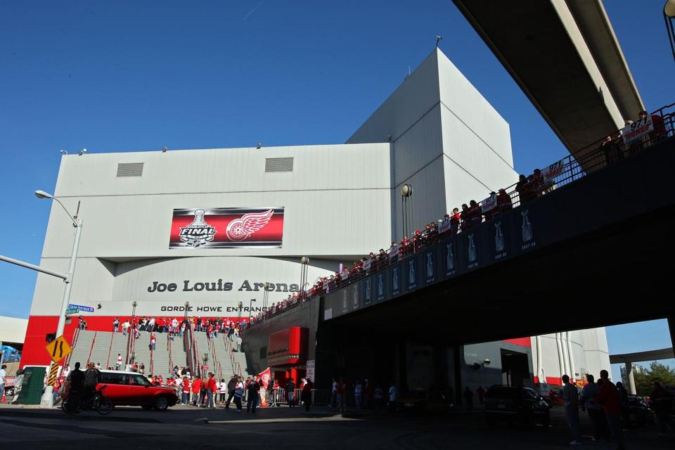 Joe Louis Arena has been the home to the Red Wings since 1979.