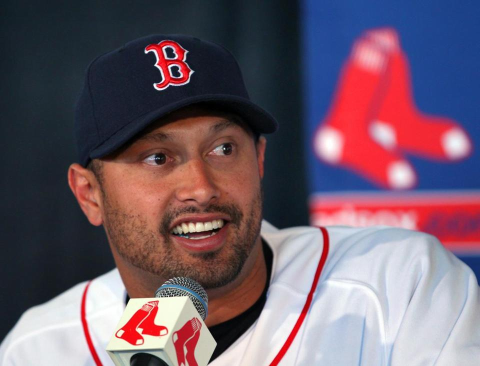 Shane Victorino is one of two big free agent additions (with Jonny Gomes) to the Red Sox outfield.