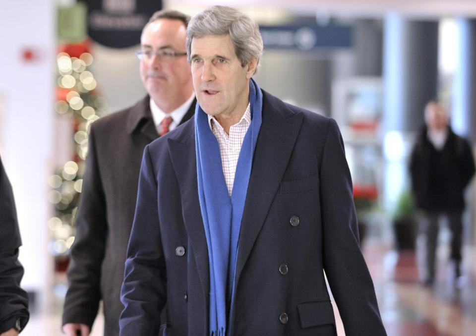 A top administration aide discounted the reports about John Kerry in the media.