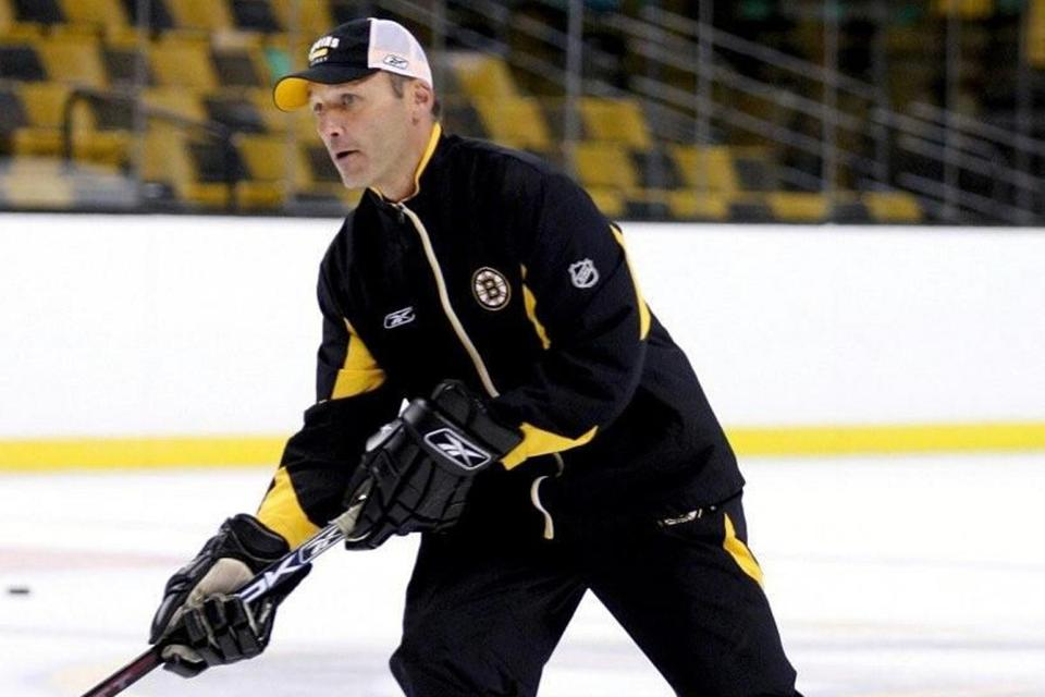 Former Providence Bruins coach Rob Murray.