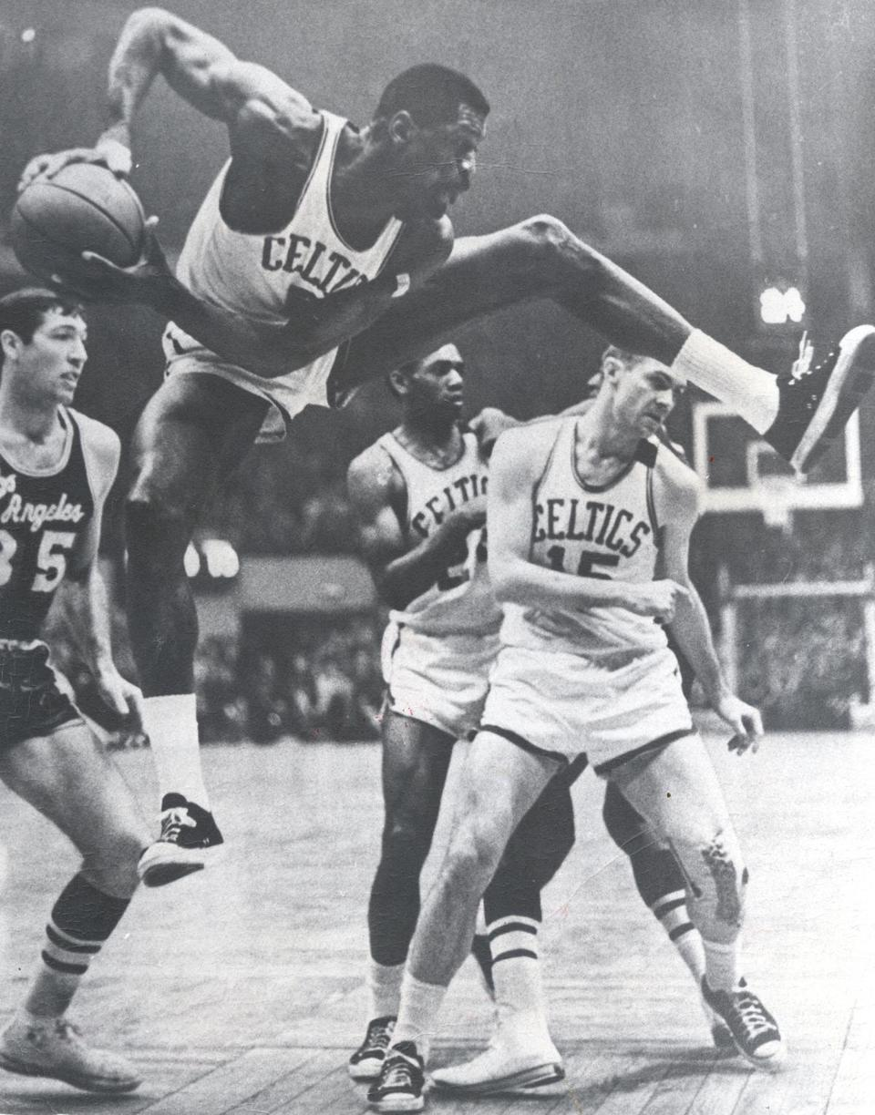 Bill Russell s career 3 of 11 The Boston Globe