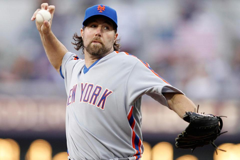 According to the report, R.A. Dickey has until 2 p.m. Tuesday to reach an agreement on an extension to become a member of the Blue Jays.