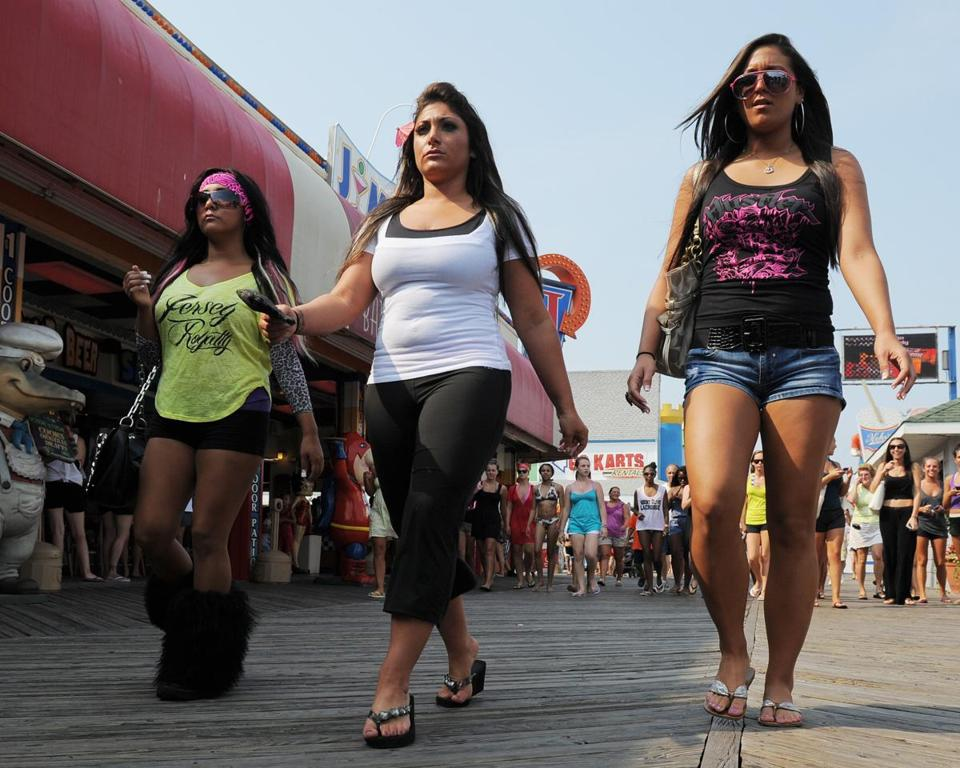 "The cast of the MTV reality show ""The Jersey Shore"" brought even more fame to a place famous for decades to vacationers and its residents."