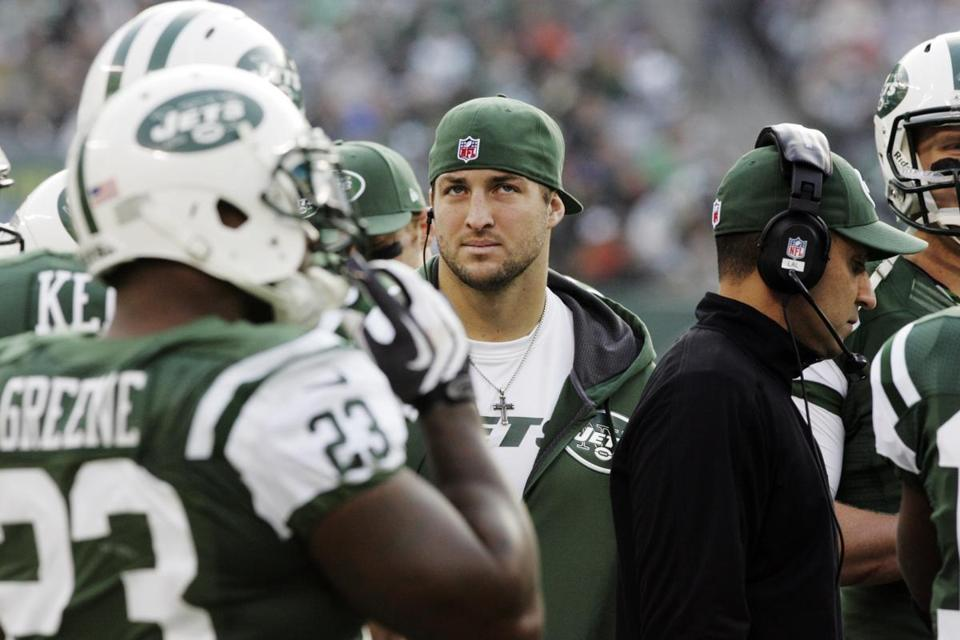 Tim Tebow and the Jets had great expectations for this season, expectations that haven't been realized.