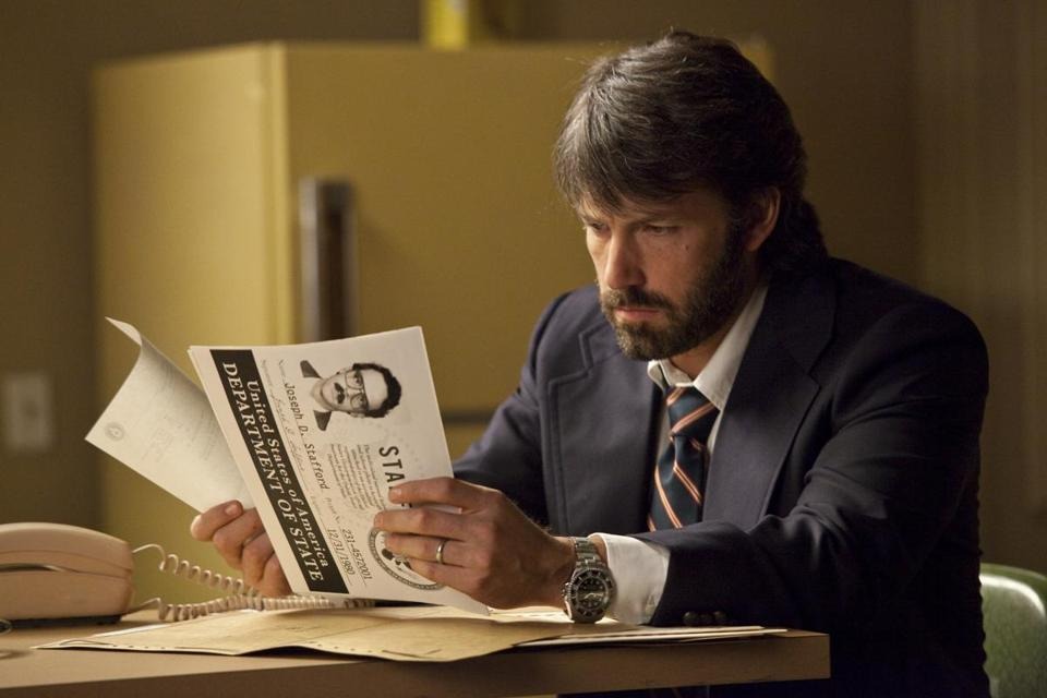 Ben Affleck in Argo, a 2012 film directed by Affleck.