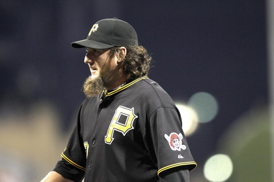 Joel Hanrahan established himself as one of the National League's best closers the past two years with the Pirates.