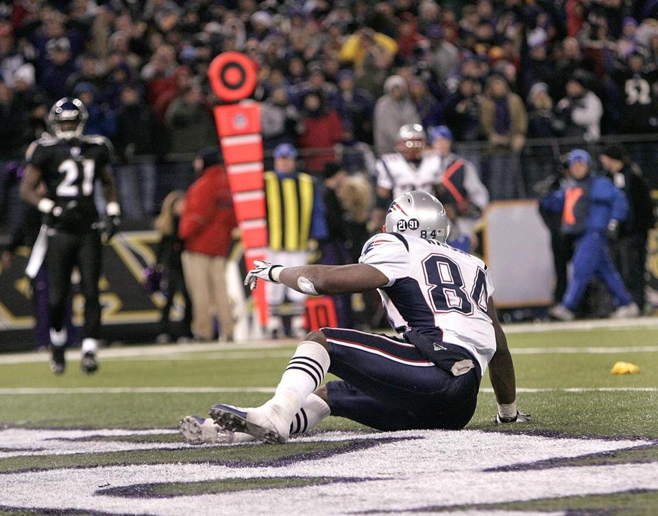 Ben Watson saw the yellow flag for defensive holding that wiped out a Patriots incomplete pass and set up a first-and-goal that the Patriots turned into the winning points against the Ravens.