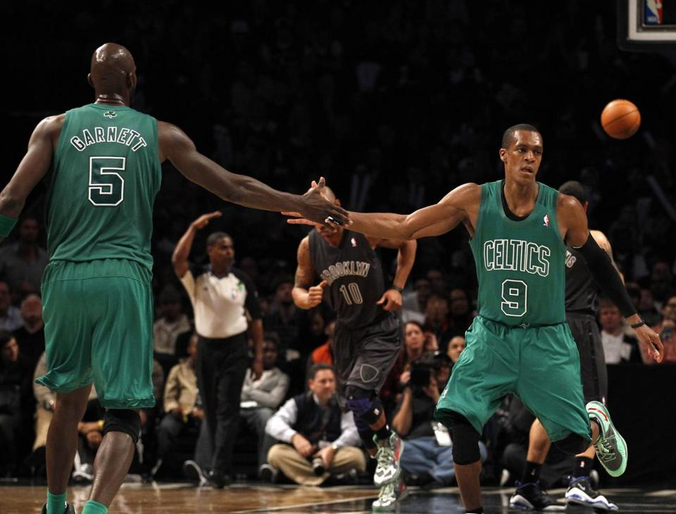 Kevin Garnett, Rajon Rondo & Co. really got things together in Tuesday's victory over the Nets in Brooklyn.