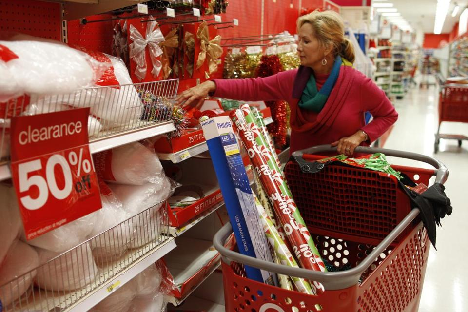 Target will soon report on its December sales.