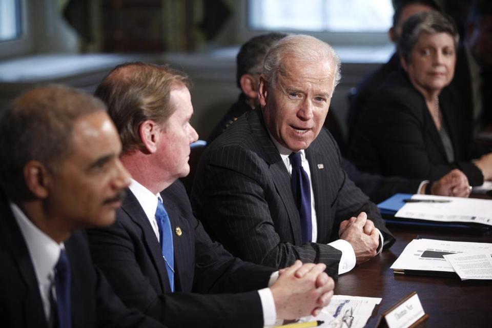 Vice President Joe Biden, meeting with federal law enforcement leaders to discuss gun control measures, faces the challenge of developing a workable, politically palatable deal.